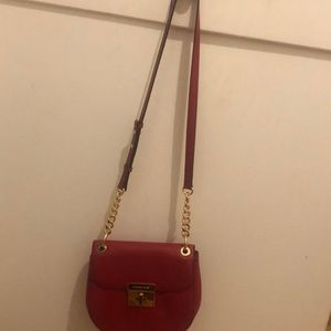 Michael Kors Bags - Michael Kors sling red Cross body purse! ❤️